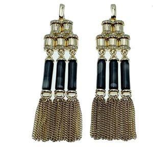 NWT Banana Republic Fringe Benefits tassel earring